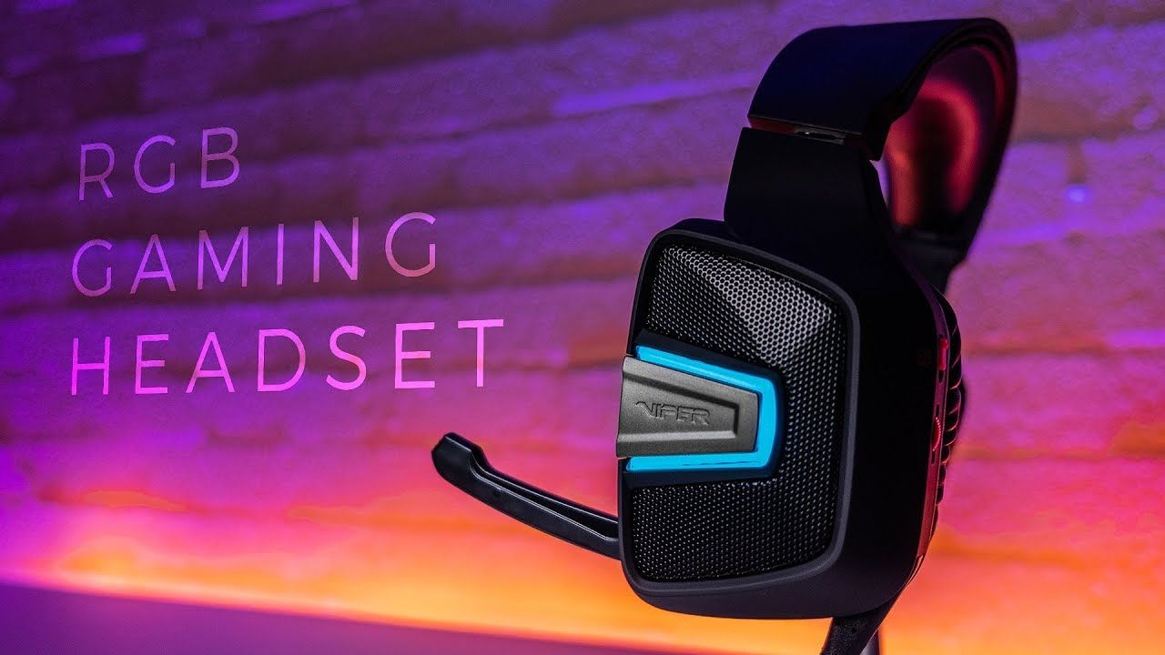 Best $35 Headset with RGB? - Viper Gaming V370 | GS