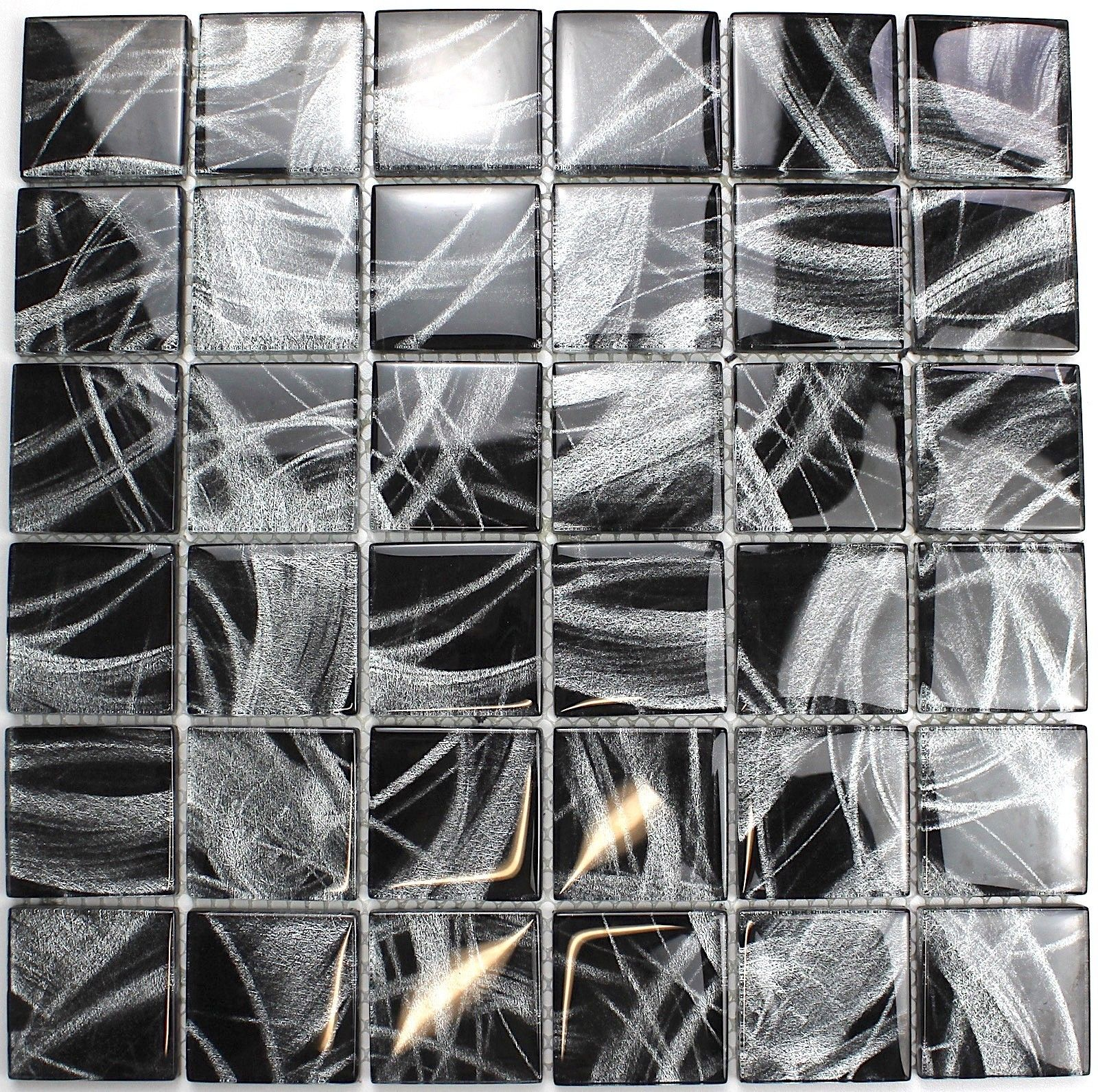 Fliesen mosaik fur wand glas mv uomo 13 92 l nge 32 cm - Farbe fur fliesen ...