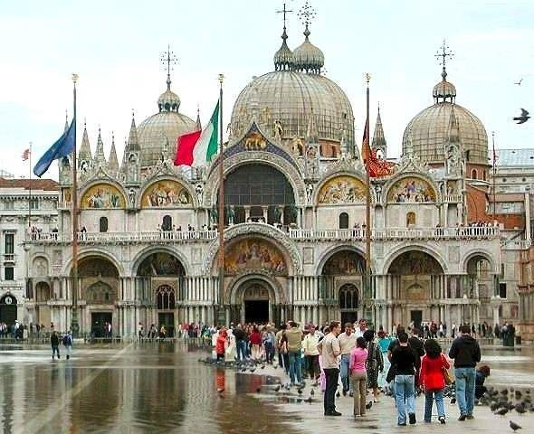 Basilica Di San Marco Venice Travel Best Of Italy Venice