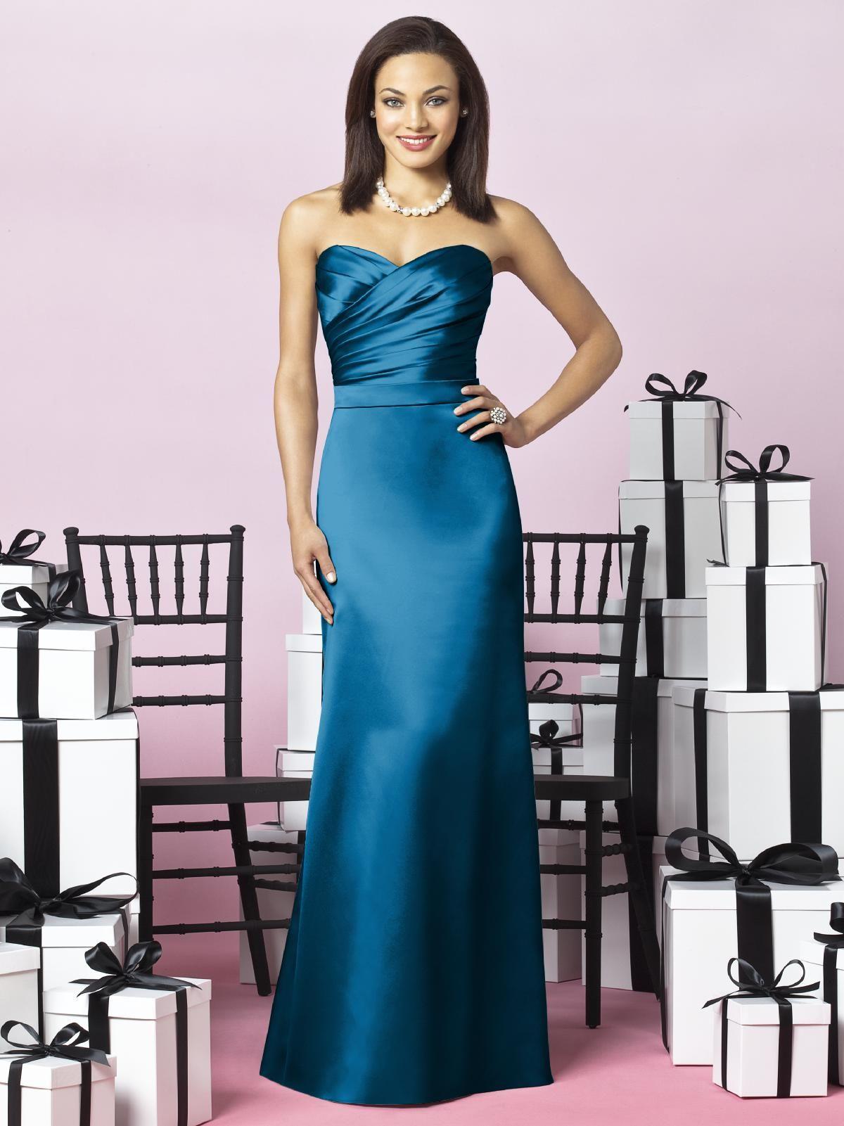 After Six Bridesmaids Style 6628 | Satin bridesmaids gowns, Matte ...