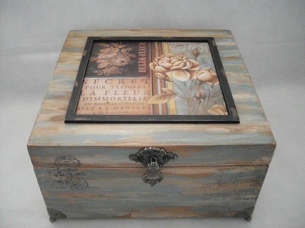 Porta Joias Com Imagens Quadros De Caixa Caixa De Madeira