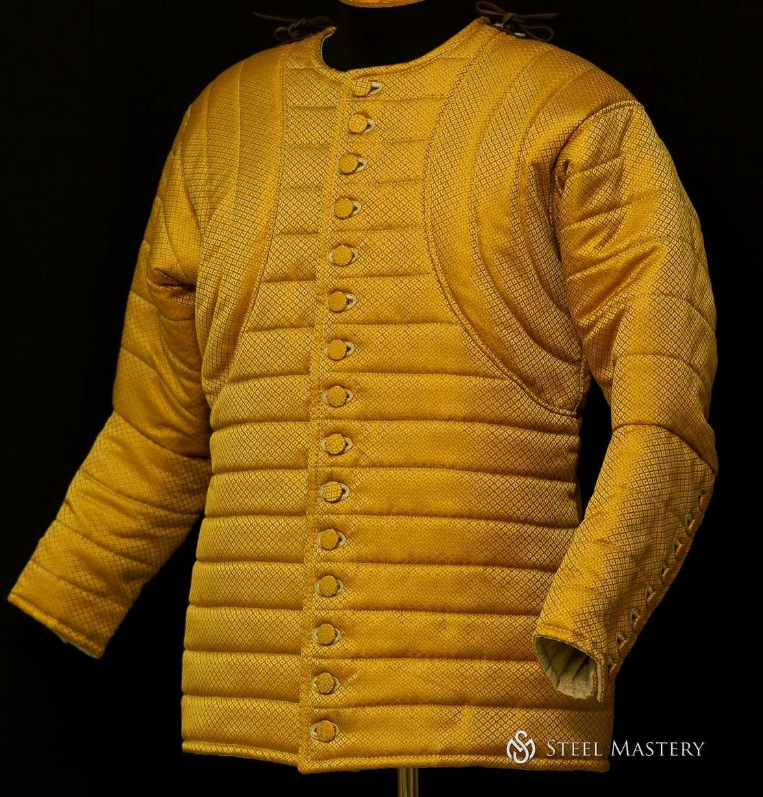 Royal Gambeson Of Patterned Fabric In 2020 Normal Clothes Top Outfits Clothes