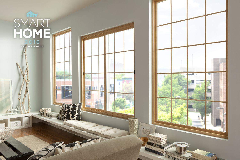Maple Interior Slider Windows Simonton Windows Doors Slider Window Living Room Windows Windows