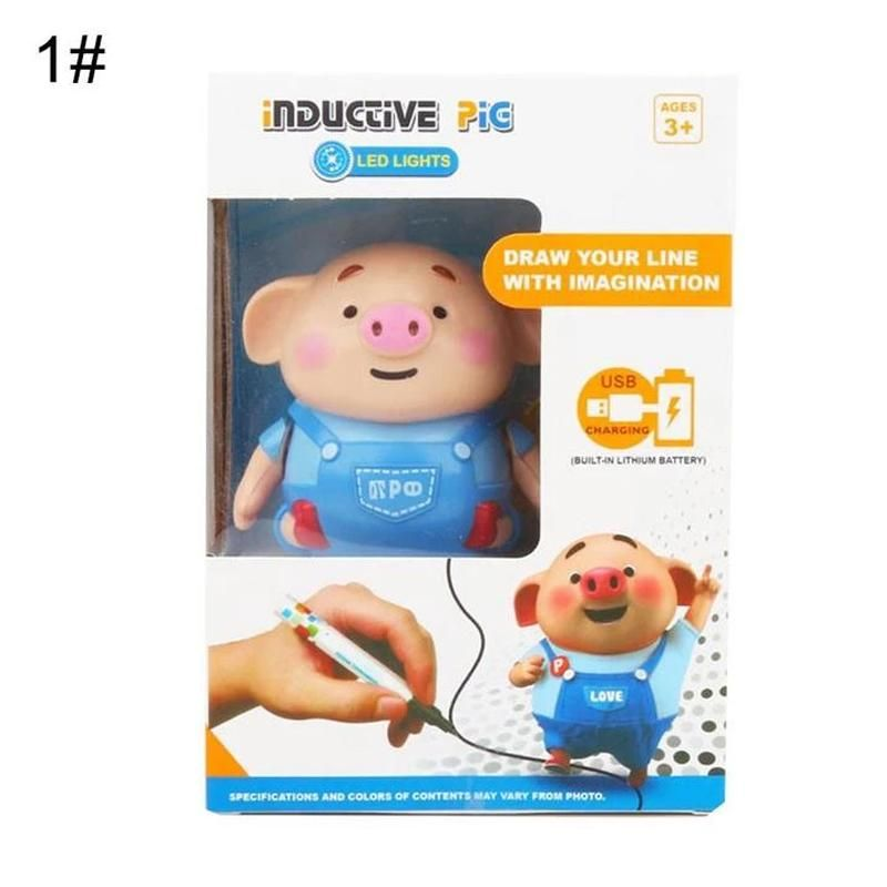 Educational Creative Pen Inductive Toy Pig ...