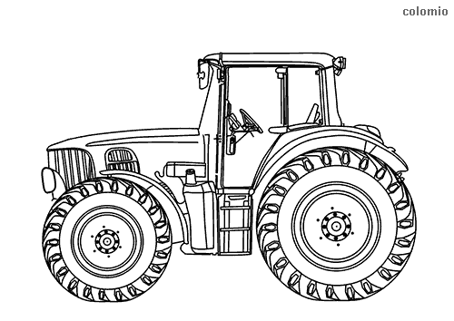 22++ New holland tractor coloring page info