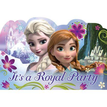 Disney Frozen Postcard Invitations   Reduced Individual Supplies