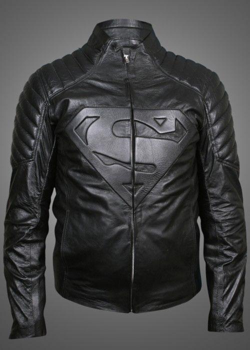 Superman Smallville Pu Faux Men S Black Leather Jacket Leather Jacket Black Black Leather Jacket Men Leather Jacket