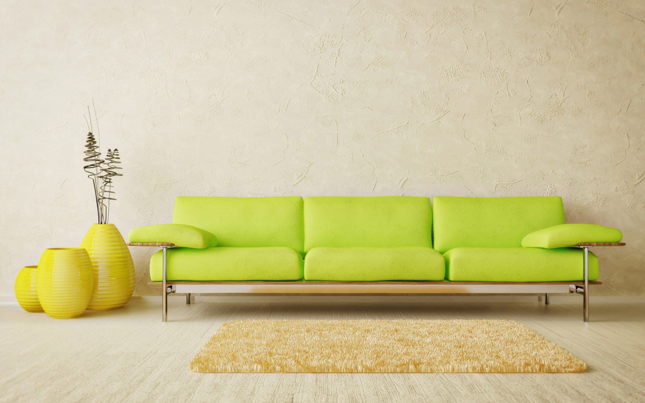 Sofa Quotes Green Sofa Green Sofa And Yellow Carpet In Room 2560 X 1600
