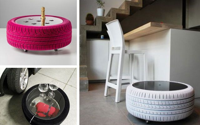 Diy decorar con neumaticos proyectos que debo intentar - Decoracion con neumaticos ...
