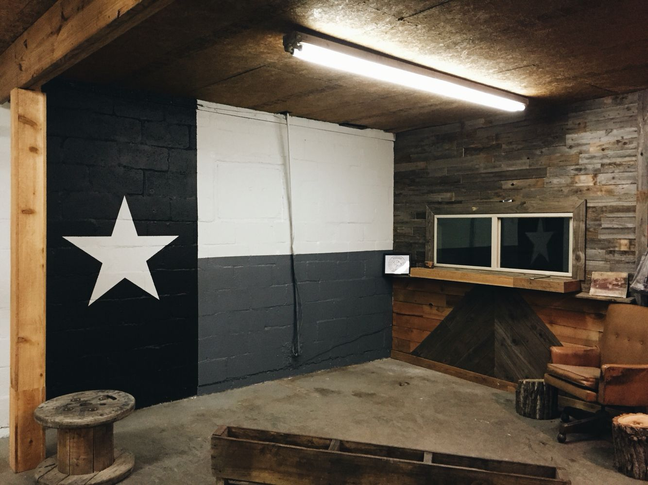 New Texas Wall In Our New Warehouse Decor Home Decor Wall