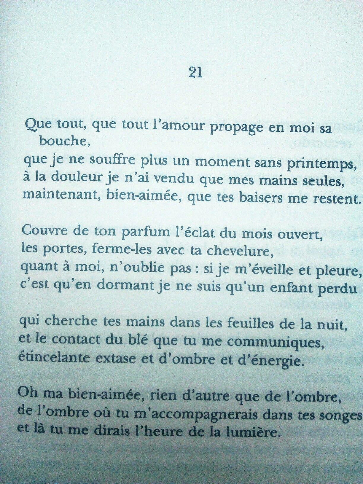Pablo Neruda La Centaine Damour Poeme Et Citation