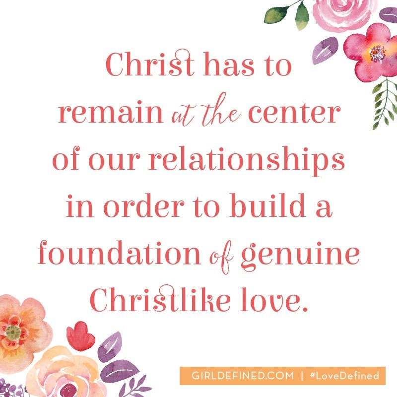 Learn more by grabbing a copy of Love Defined: Embracing God's