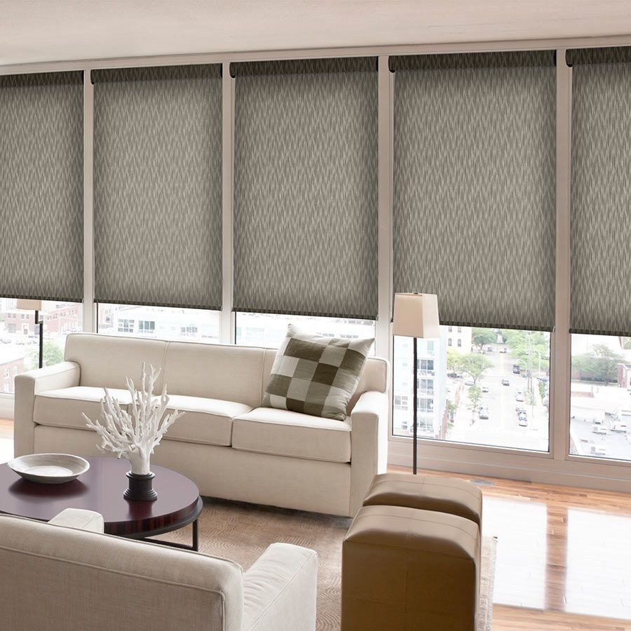 Roman curtains as an element of modern interior 7