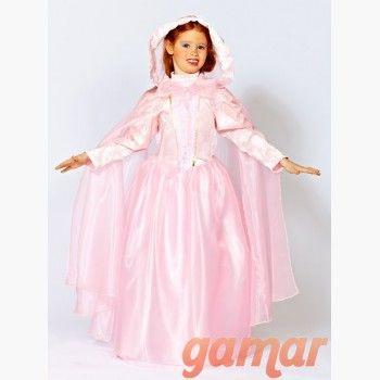 Disfraz Princesa Odet - Disfraces Gamar - Fabricado en España - Tallas sueltas y únicas