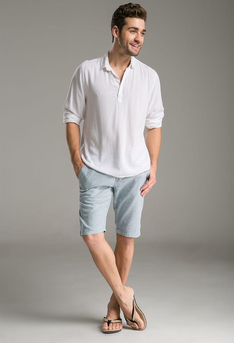 male summer casual wear - Google Search   Men casual, Mens ...
