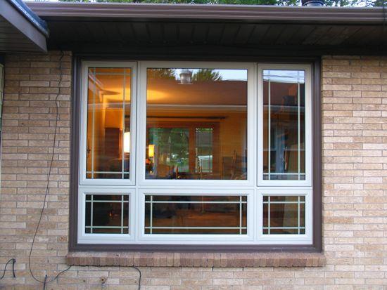 Pin By Flowershoppecards On Home Prairie Style Windows Bay Window Design Windows Exterior