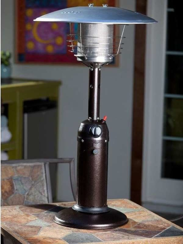 8 Patio Heaters To Keep You Comfy Outdoors Tabletop Patio Heater