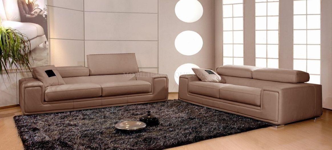 étourdissant Canape Cuir Places Fauteuils Décoration Française - Canapé cuir 3 places fauteuil