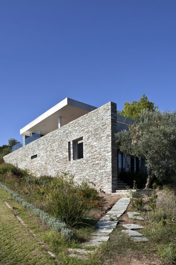 Attraktiv Lieblich Plane House, Skiathos Island, Greece By K Studio | Architecture:  Houses,