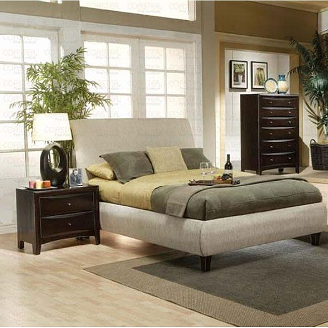 A Sleek Contemporary Look To Your Bedroom Decor With The Martini Furniture  Bedroom Set Includes One Queen Bed, One Nightstand And One ChestBedroom  Furniture ...