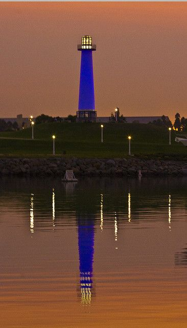 Lighthouse in Long Beach by longfamilytales, via Flickr
