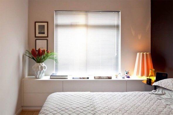 Armarios Habitacion Matrimonio Conforama ~ Móvel aparador para quarto Embaixo da janela Ideias para a casa Pinterest Bancadas