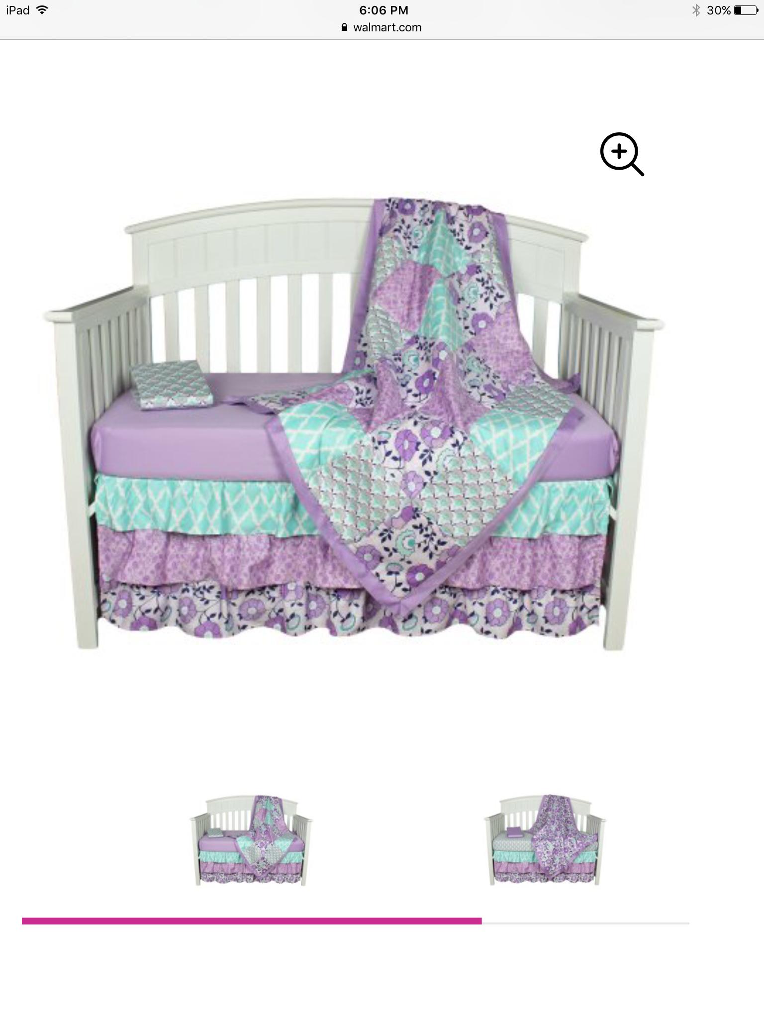 Purple And Teal Baby Girl Crib Set Crib Bedding Girl Purple Baby Bedding Sets Purple Nursery Bedding