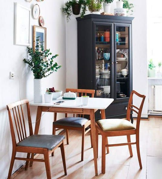 Make It Easier To Eat Breakfast Together Add A Small Table Your Kitchen