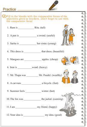 Grade 3 Grammar Lesson 5 Adjectives Comparison Eureka Group Of