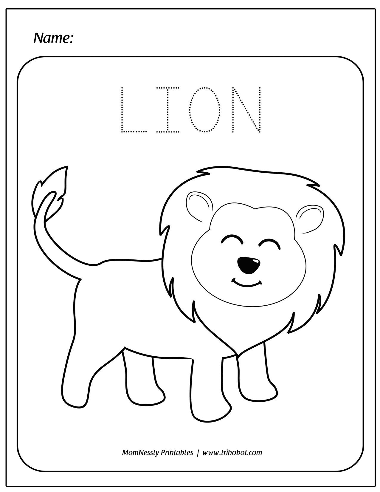 Coloring Pages For Kids Https Tribobot Com Coloring Pages For Kids Free Preschool Printables Worksheets For Kids