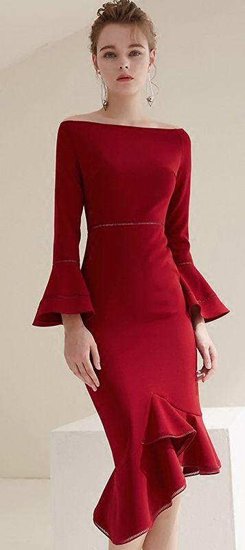 429aeae8b Pin de Andréia Paulino em Bom gosto Deia | Vestidos formales, Vestidos  elegantes e Vestidos cortos