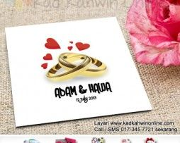 Designnya Simple Tapi Masih Lagi Mampu Memikau Hati Para Pelanggan Kami Place Card Holders Projects To Try Kad Kahwin