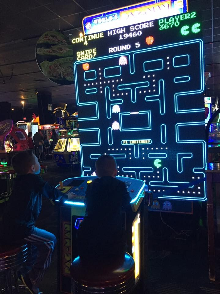 Dave And Busters With Images Arcade Game Room Video