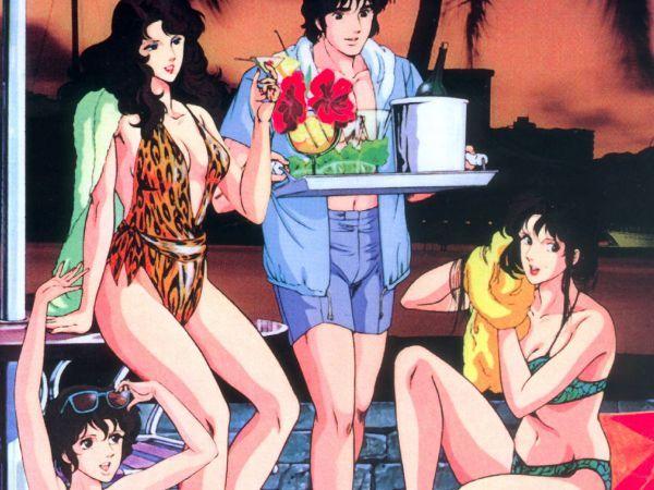 Katzenauge Anime