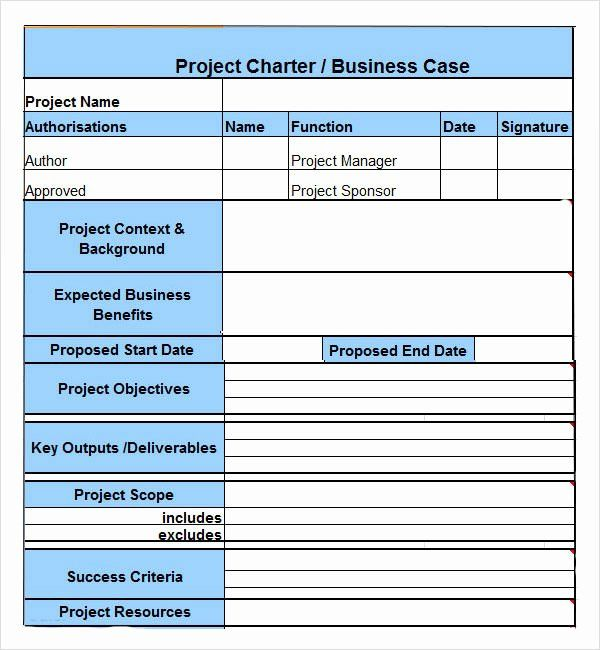 Project Charter Example Pdf Luxury Project Charter 7 Free