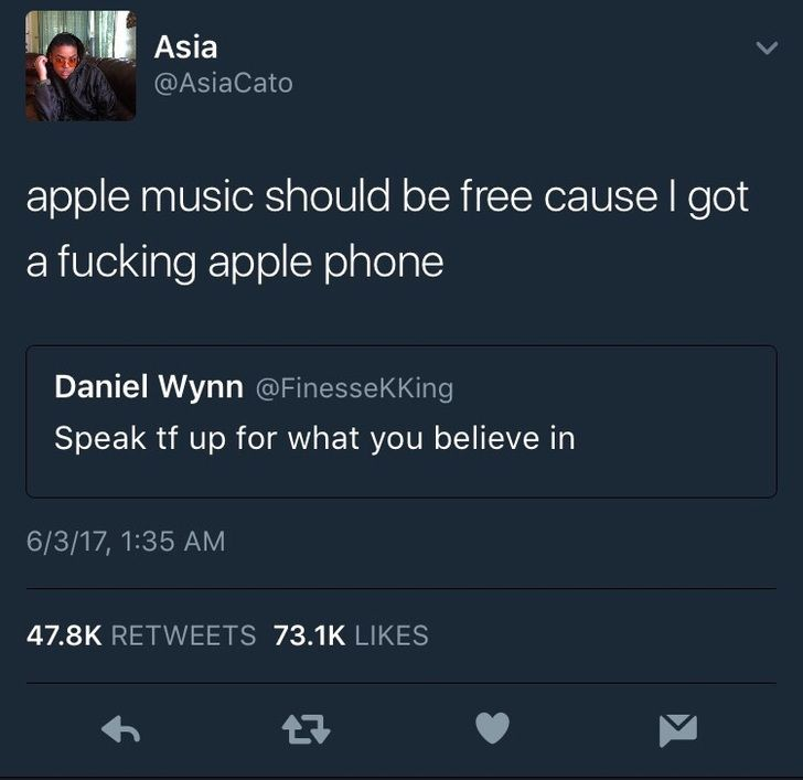 [blackpeopletwitter] Let your voice be heard by breadnbutterr on 2017-06-04 00:33:29