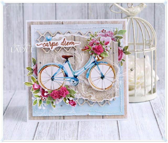 Велосипеды в открытках скрапбукинг