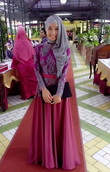 45 Gambar Model Kebaya Muslim Modern Dan Terbaru Indonesia