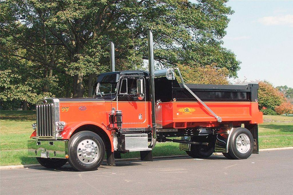 1977 Peterbilt 359 (289) | Cool Trucks | Dually trucks, Peterbilt