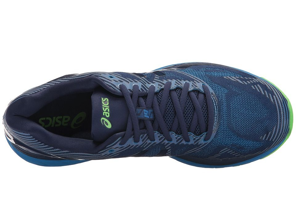 huge discount c5f77 09801 ASICS GEL-Nimbus(r) 19 Lite-Show Men's Running Shoes Indigo ...