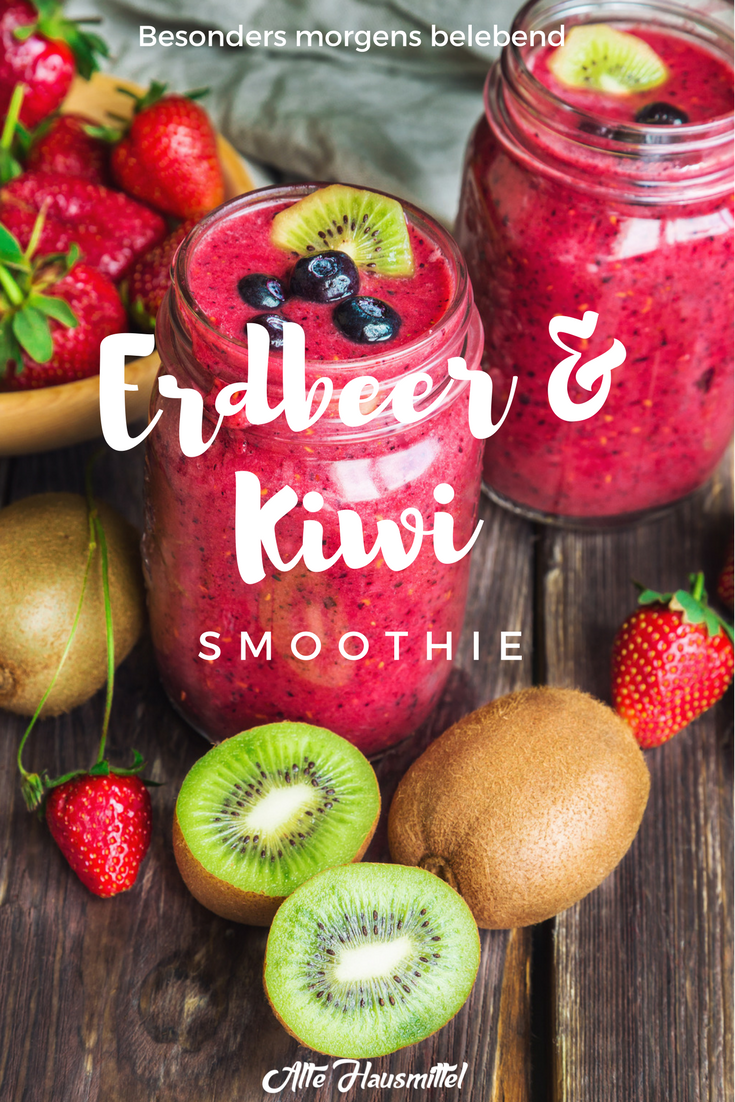 Photo of Smoothie mit Kiwi