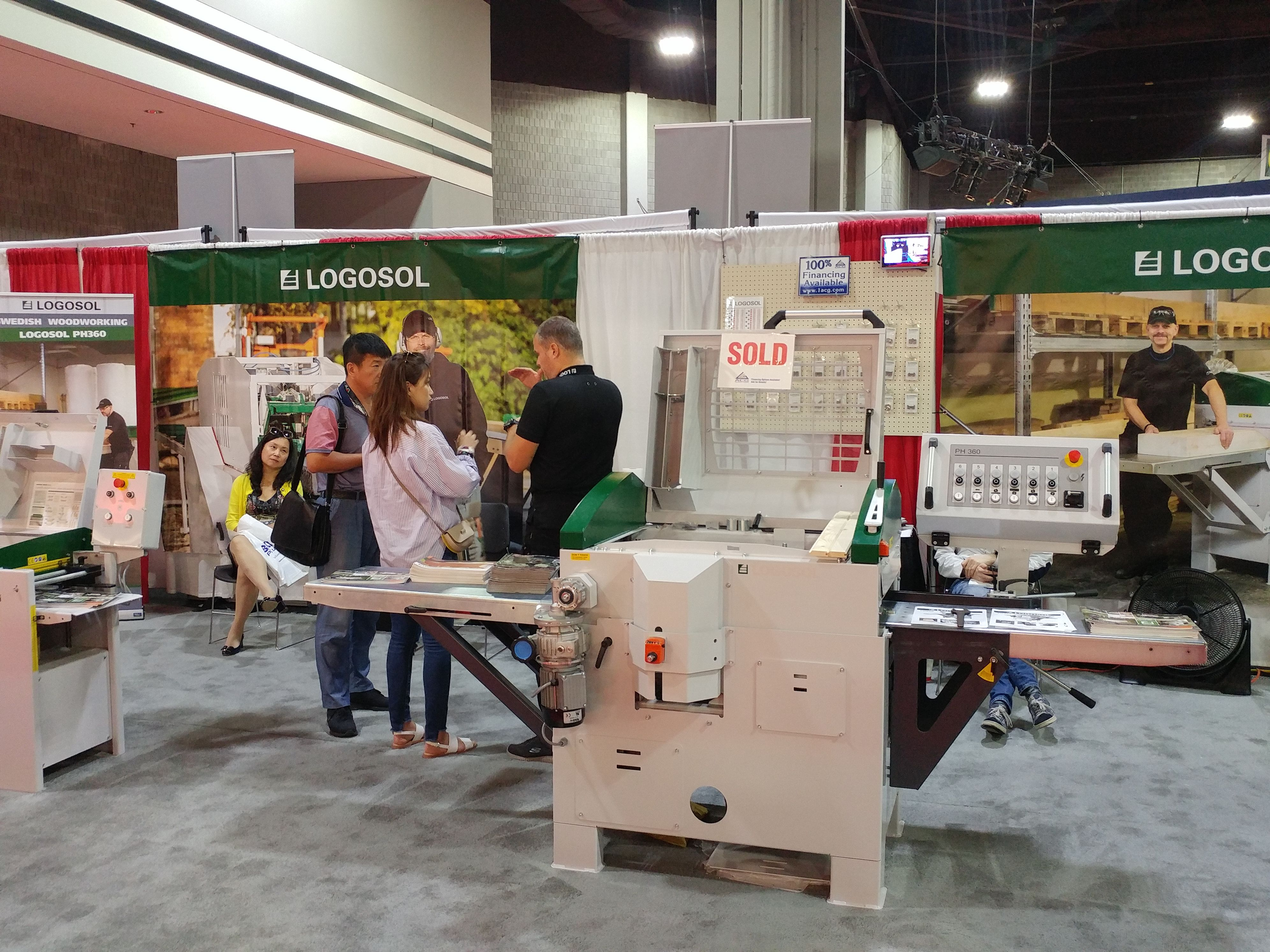 Logosol Booth At Iwf Atlanta Woodworking Home Decor Home