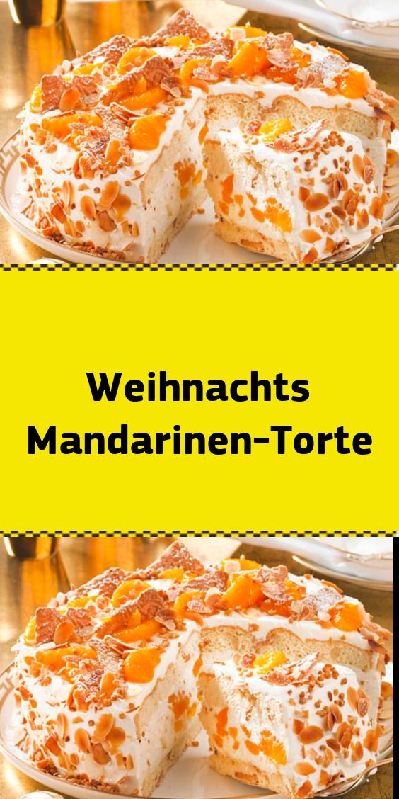 Weihnachts Mandarinen-Torte #tortegeburtstag