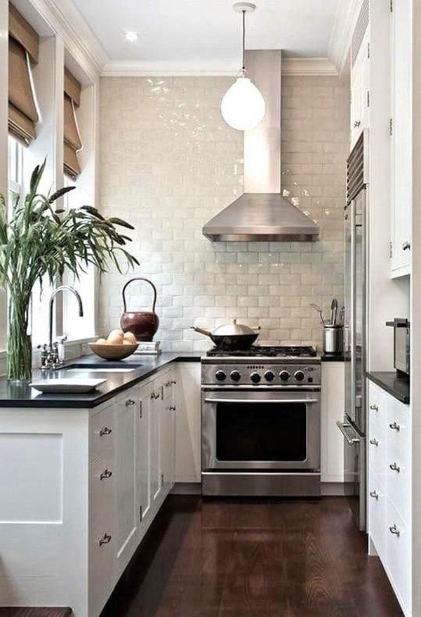 Cocinas pequeñas: 6 ideas para decorarlas | Cocina pequeña, Pequeños ...