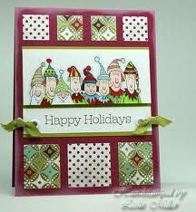 stampin up holiday lineup cards - Google Search