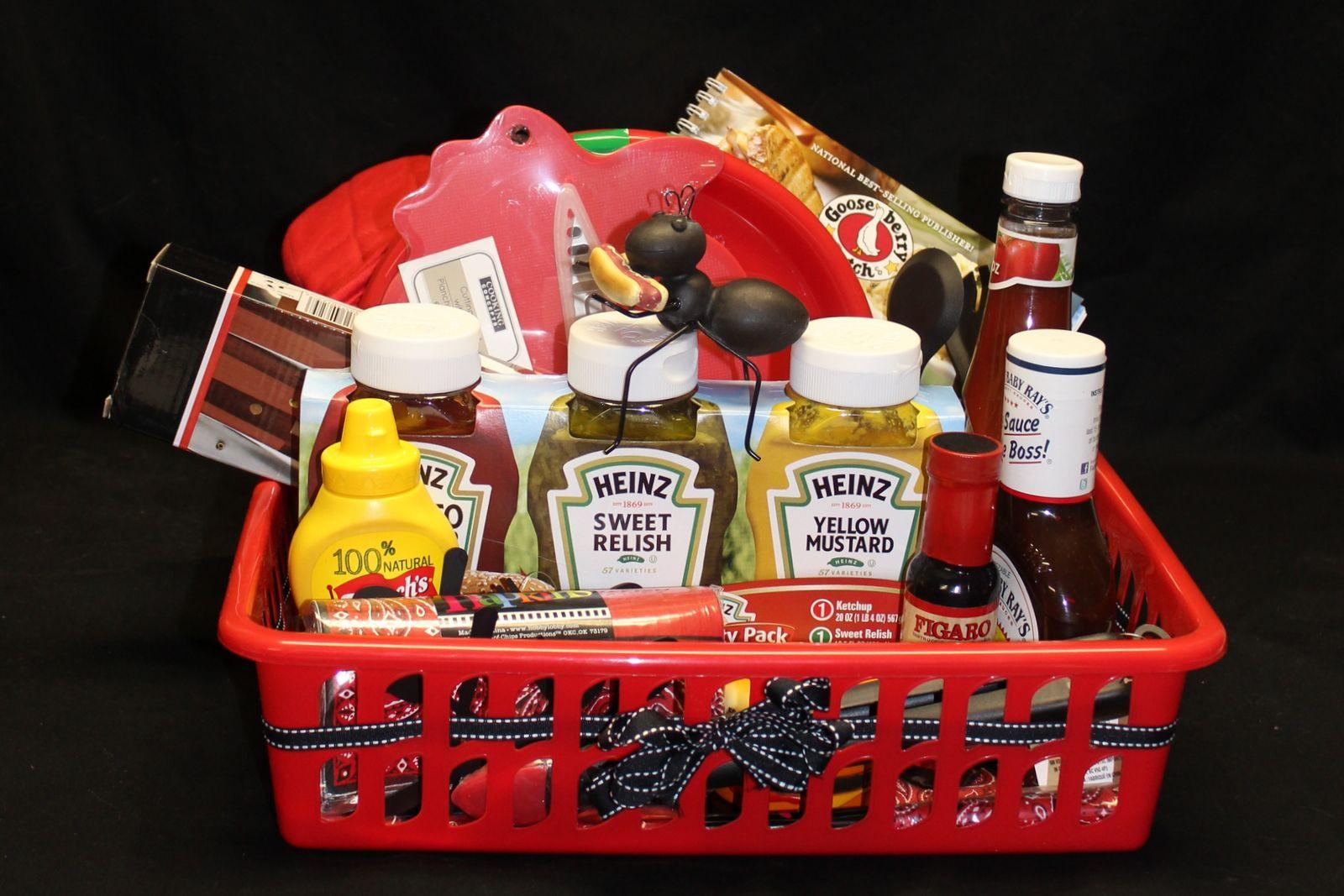 relay for life picnic gift basket theme