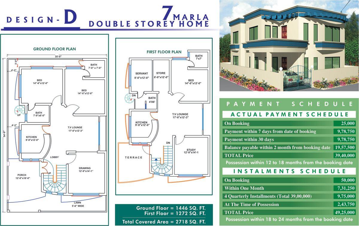 7 Marla House Pictures Arquitetura