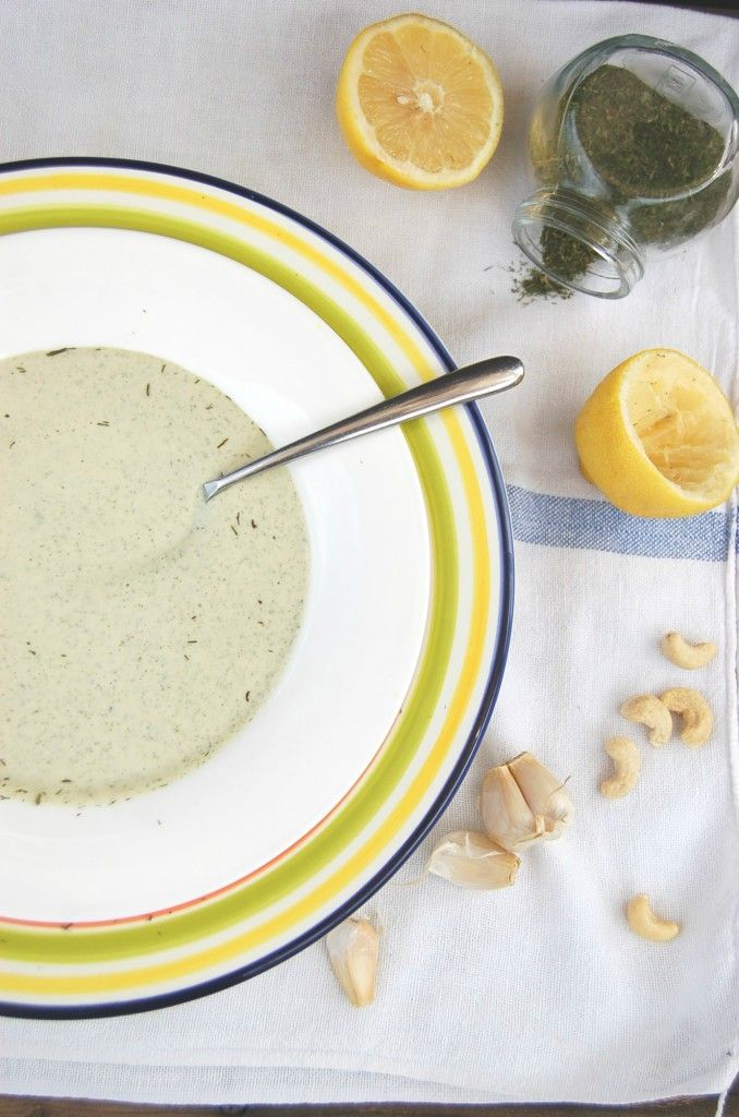 Whole Food Plant Based Oil Free Salad Dressing Recipe That Tastes Like Ranch