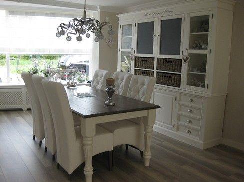 mooie eetkamer stijl/kleuren - Living | Pinterest - Eettafel, Kast ...