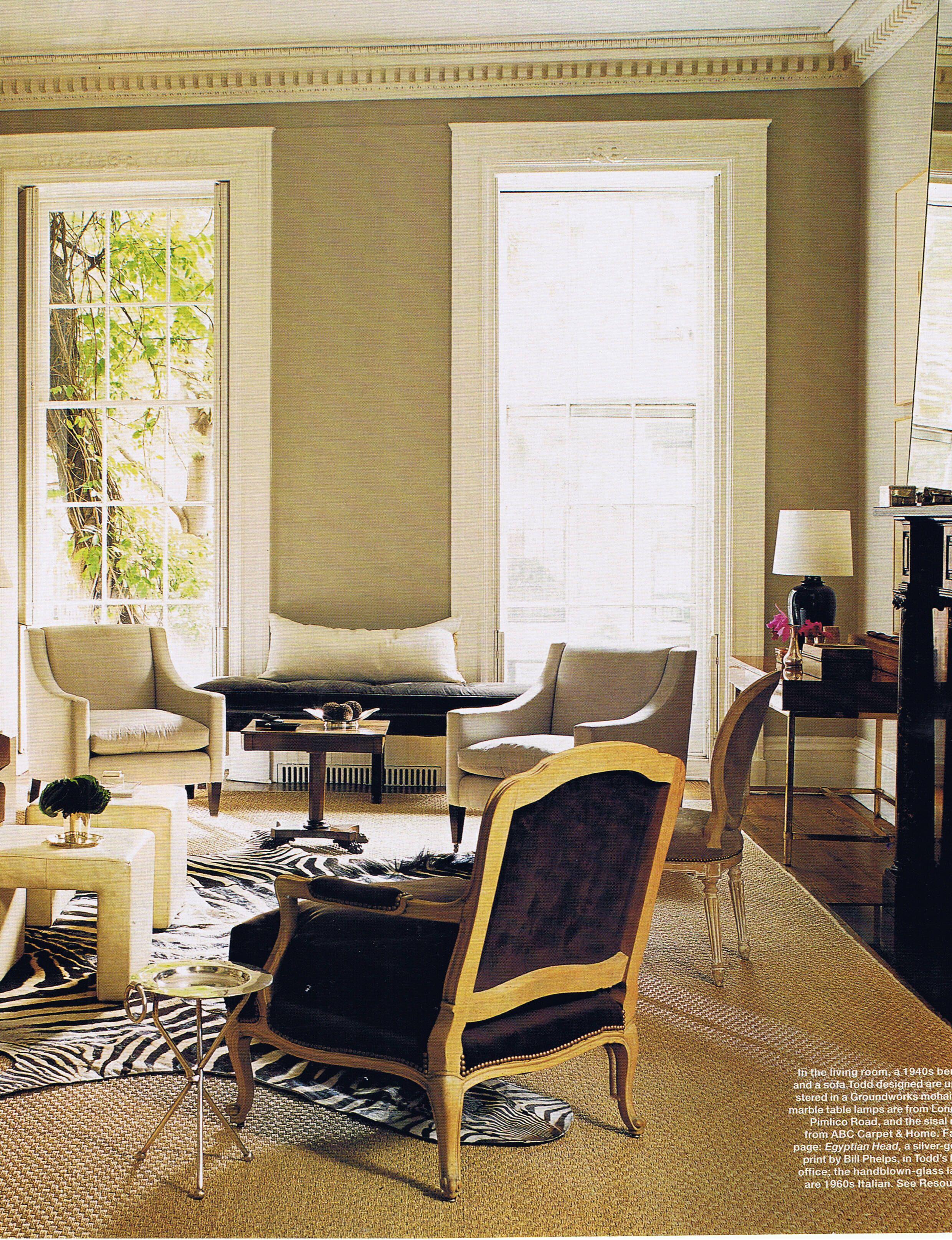 Artsy Living Room: Anna Hackathorn On Living Rooms